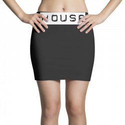 house club,dance,music,vinyl,rave,dj,cool,funny Mini Skirts   Artistshot