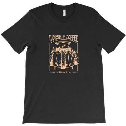 Worship Coffee Classic T-shirt Designed By Yusrizal_