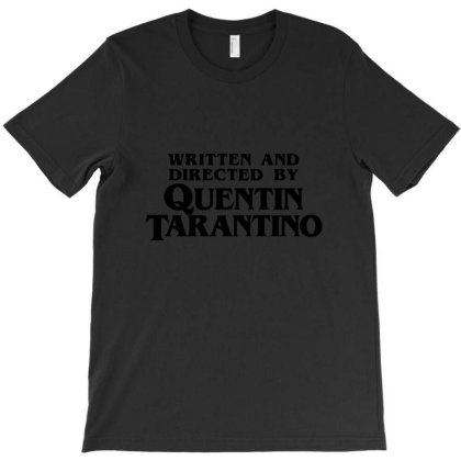 Written And Directed T-shirt Designed By Yusrizal_