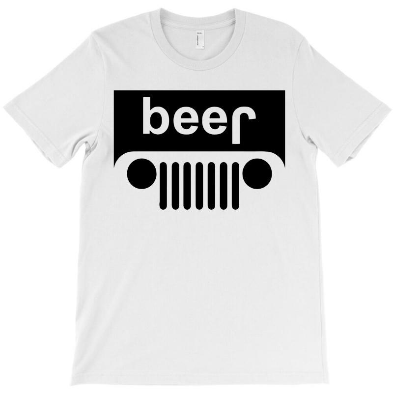 Beer - Jeep T-shirt | Artistshot