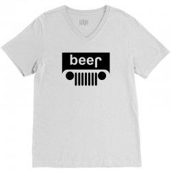 Beer - Jeep V-Neck Tee | Artistshot