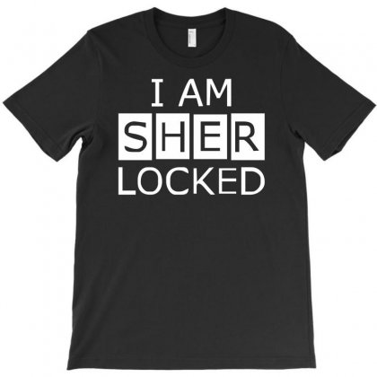 I Am Sherlocked T-shirt Designed By Henz Art