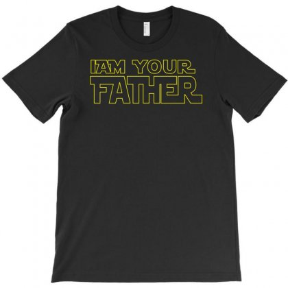 I Am Your Father Star Wars T-shirt Designed By Henz Art