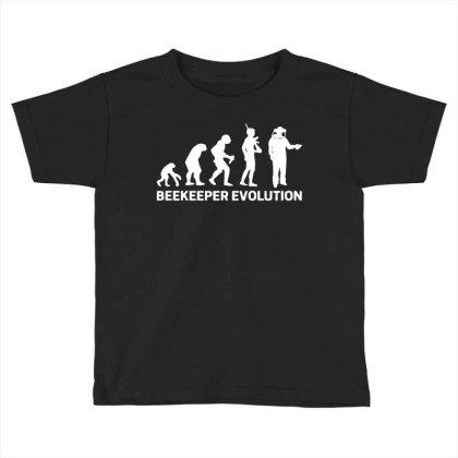 Beekeeper Evolution Toddler T-shirt Designed By Toldo