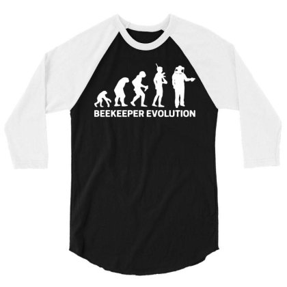 Beekeeper Evolution 3/4 Sleeve Shirt Designed By Toldo