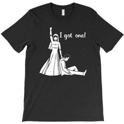 I Got One Wedding Bride Groom Engagement T-shirt Designed By Henz Art