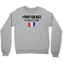 Pray For Nice Crewneck Sweatshirt   Artistshot