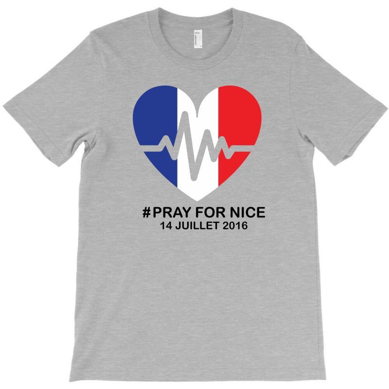 Pray For Nice T-shirt | Artistshot