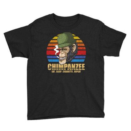 Chimpanzee Youth Tee Designed By Grafixbychawki