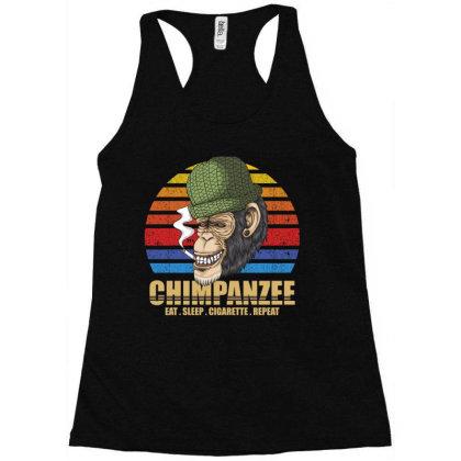 Chimpanzee Racerback Tank Designed By Grafixbychawki