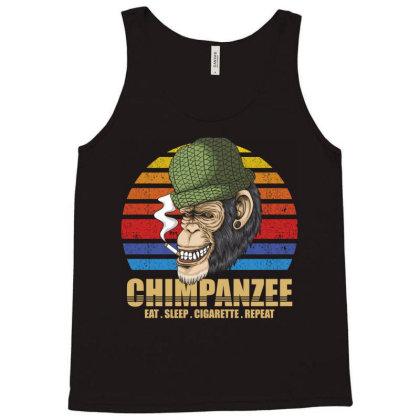 Chimpanzee Tank Top Designed By Grafixbychawki