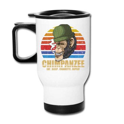 Chimpanzee Travel Mug Designed By Grafixbychawki