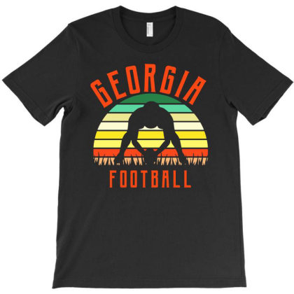 Georgia For People Who Like Beach American Football And Sports T-shirt Designed By Fanshirt