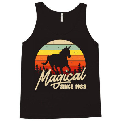 Magical Since 1983 Bday Party Tank Top Designed By Fanshirt