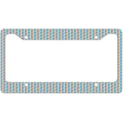 Social Network Face License Plate Frame Designed By Estore