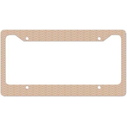 Hands License Plate Frame Designed By Estore