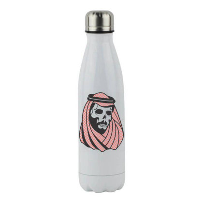 Skull Arabian Stainless Steel Water Bottle Designed By Estore
