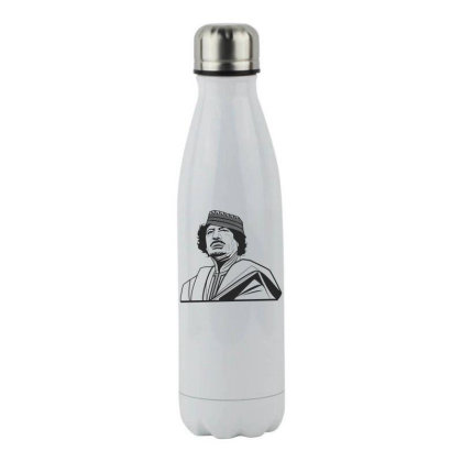 Muhammad Kaddafi Stainless Steel Water Bottle Designed By Estore