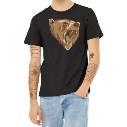 Bear Heather T-shirt Designed By Estore