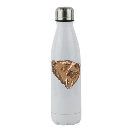 Bear Stainless Steel Water Bottle Designed By Estore
