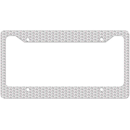 Keep It Healthy License Plate Frame Designed By Estore
