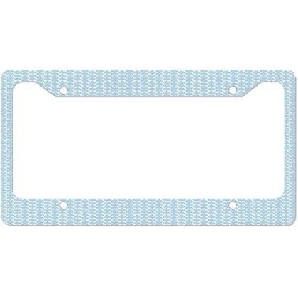 Self Quarantine License Plate Frame Designed By Estore