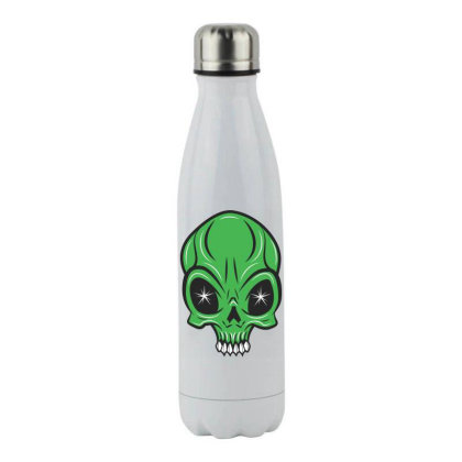 Ailen Skull Stainless Steel Water Bottle Designed By Estore