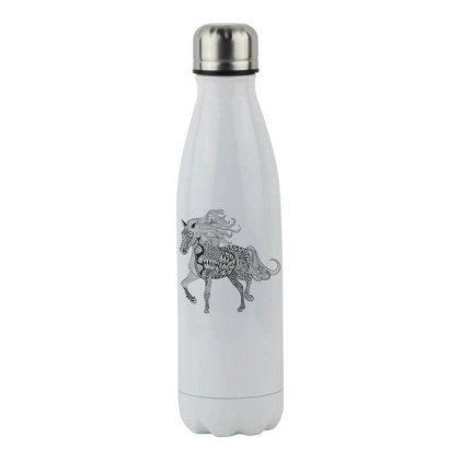 Horse Stainless Steel Water Bottle Designed By Estore