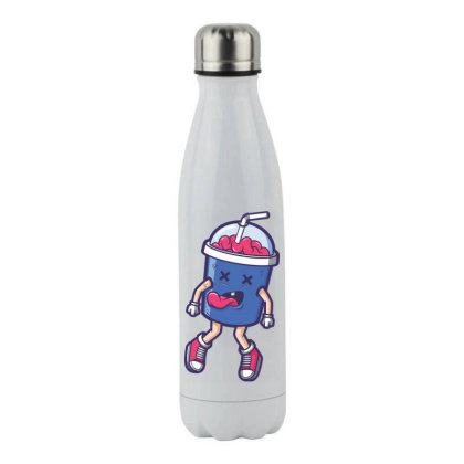 Brain Juice Stainless Steel Water Bottle Designed By Estore