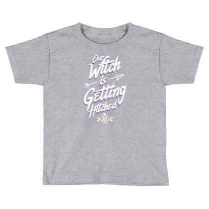 Goth Witch Bachelorette Toddler T-shirt Designed By Wowotees