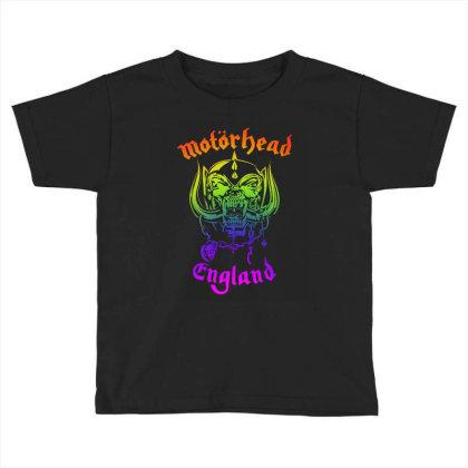 Chain Motorhead Skull Art T Shirt Toddler T-shirt Designed By Bluebubble