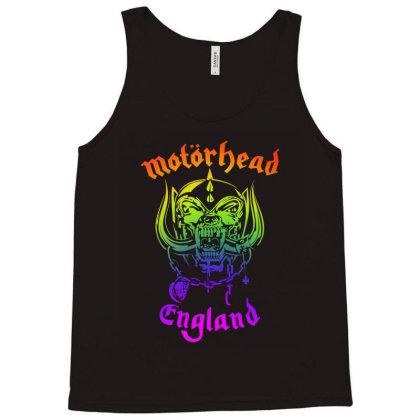 Chain Motorhead Skull Art T Shirt Tank Top Designed By Bluebubble