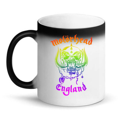 Chain Motorhead Skull Art T Shirt Magic Mug Designed By Bluebubble