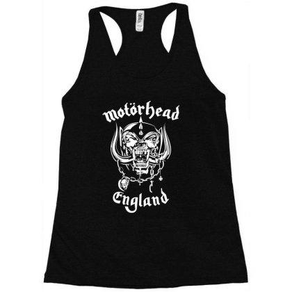 Chain Motorhead Skull T Shirt Racerback Tank Designed By Bluebubble