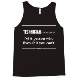 Technician Noun Tank Top | Artistshot