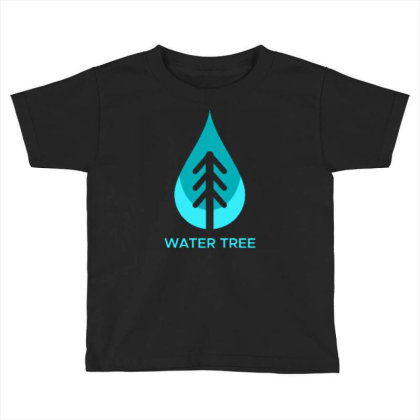 Water Tree Toddler T-shirt Designed By Dhiart