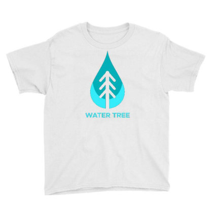 Water Tree Youth Tee Designed By Dhiart