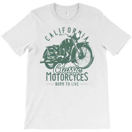 Vintage Motorcycle1 T-shirt Designed By Dhiart