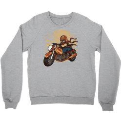 wild biker Crewneck Sweatshirt | Artistshot