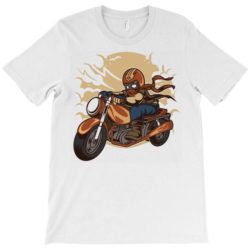 Wild Biker T-shirt | Artistshot