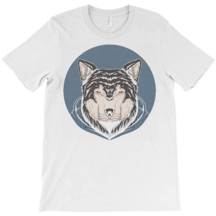 Wolf Hoodie T-shirt Designed By Dhiart
