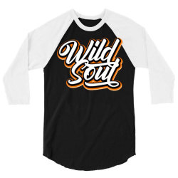 wild soul 3/4 Sleeve Shirt | Artistshot