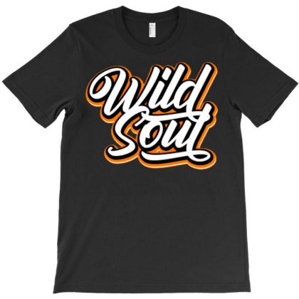 Wild Soul T-shirt Designed By Dhiart