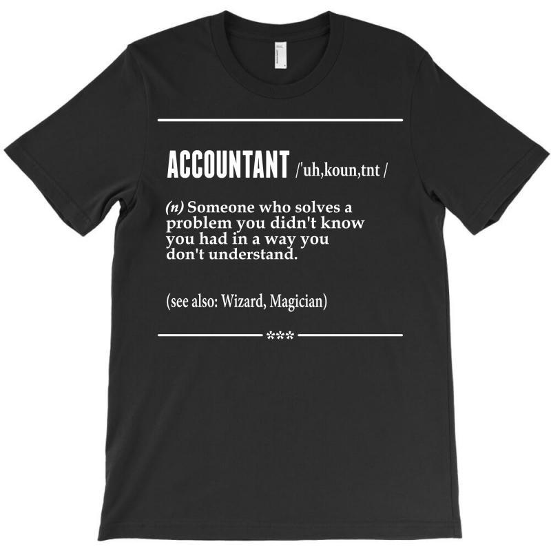 Accountant Noun T-shirt | Artistshot