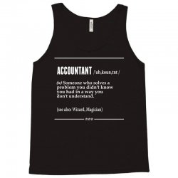 Accountant Noun Tank Top | Artistshot