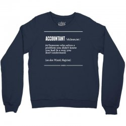 Accountant Noun Crewneck Sweatshirt | Artistshot