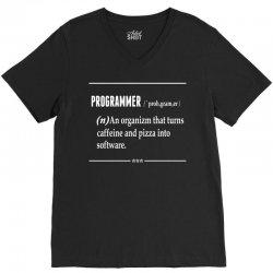 Programmer  Noun V-Neck Tee   Artistshot
