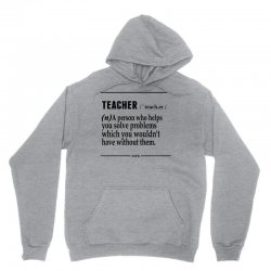 Teacher Noun Unisex Hoodie   Artistshot