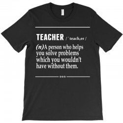 Teacher Noun T-Shirt | Artistshot