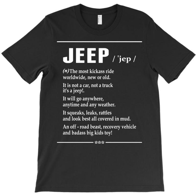 Jeep Noun T-shirt   Artistshot